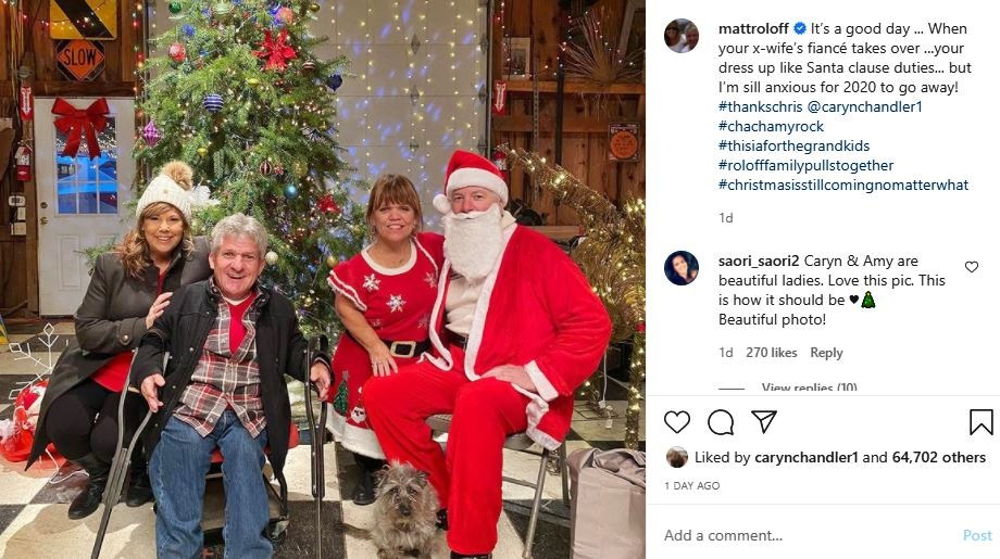 Matt Roloff Christmas Cheer photo