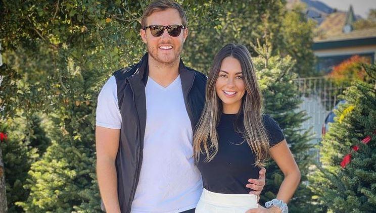 Peter Weber and Kelley Flanagan Instagram