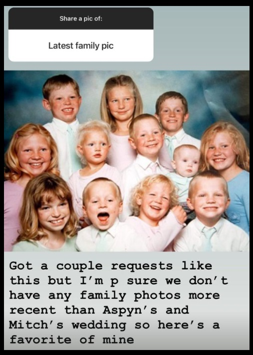 Sister Wives Kids Throwback Pic