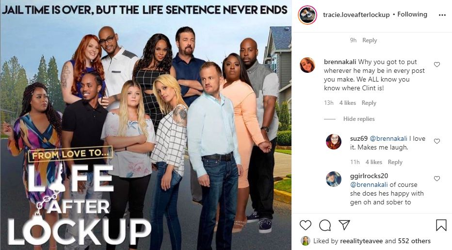 Tracie Wagaman Clint Love After Lockup