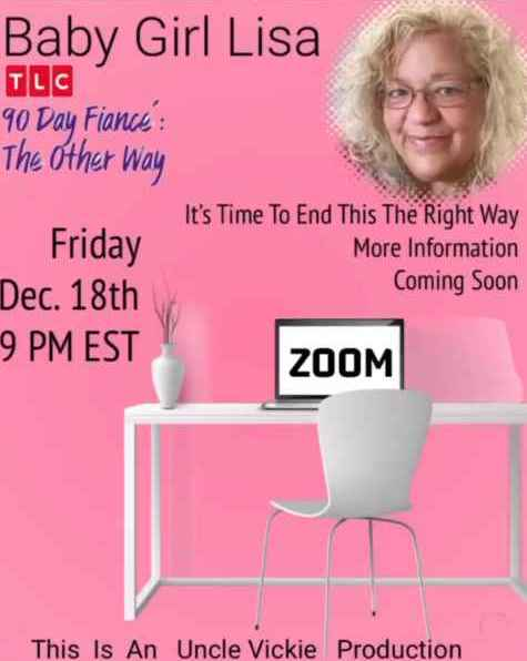 90 Day Fiance's Baby Girl Lisa Hamme is hosting a Tell-All on Zoom
