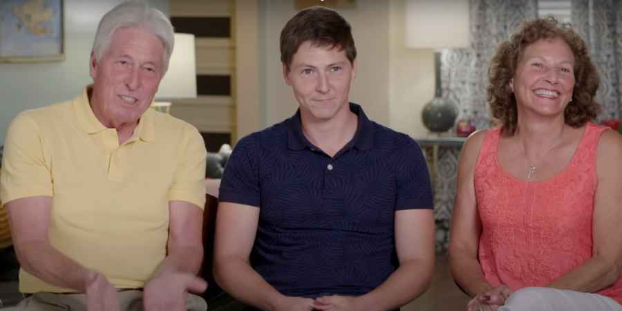 Brandon and his parents on 90 Day Fiance Season 8
