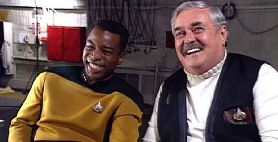 The ashes of Star Trek actor James Doohan were snuck up to the International Space Station