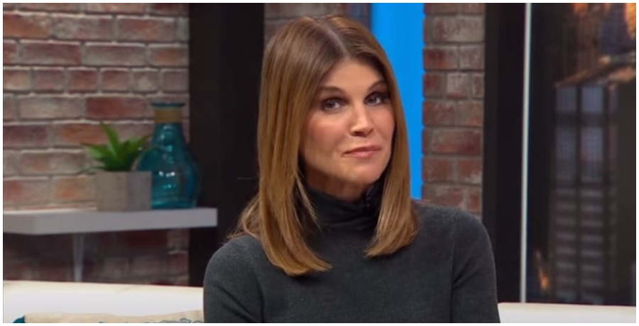 Lori Loughlin sits down for an interview. (Photo by People Magazin/YouTube)