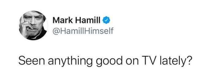 Star Wars star Mark Hamill appeared in The Mandalorian