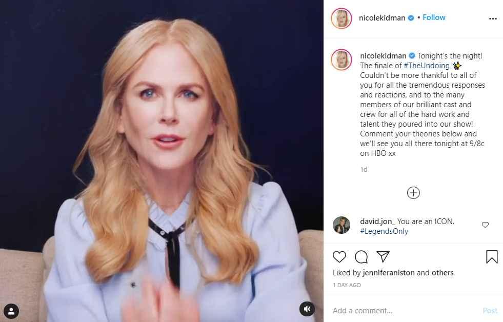 Nicole Kidman stars in The Undoing on HBO Max