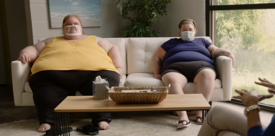 1000-Lb Sisters Screen Grab from January 18th Episode CLip on TLC Youtube