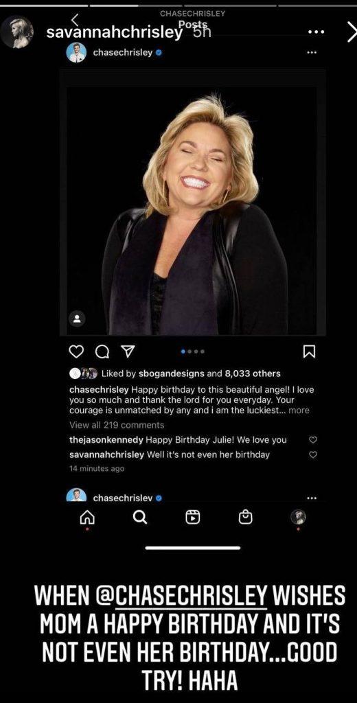 Julie Chrisley Instagram