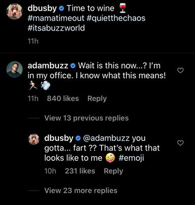 Adam Busby Danielle Instagram