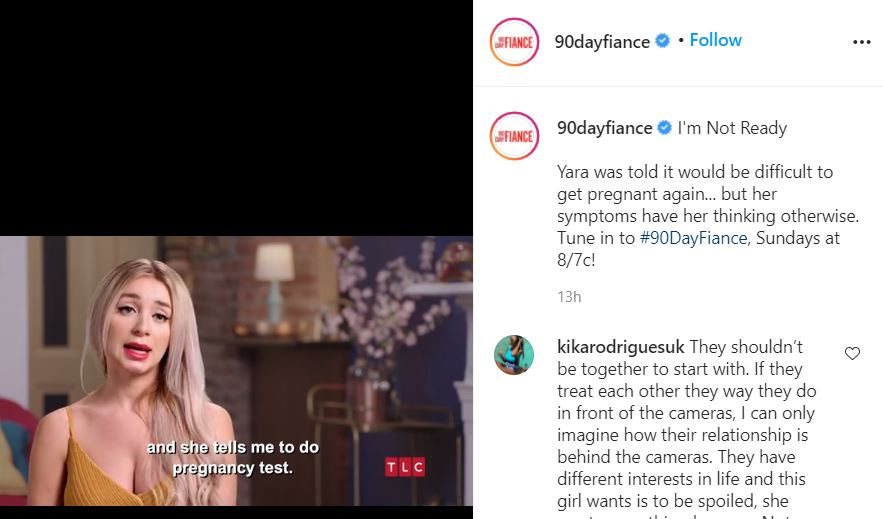 90 Day Fiance Yara might be pregnant fans slam her