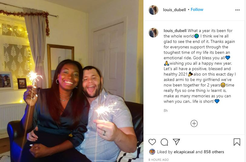 Abby St. Germain Husband Louis talks life is short