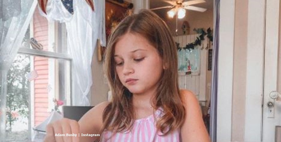 Adam Busby Daughter Blayke