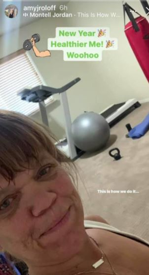 Amy Roloff Hits The Gym New Year New Me