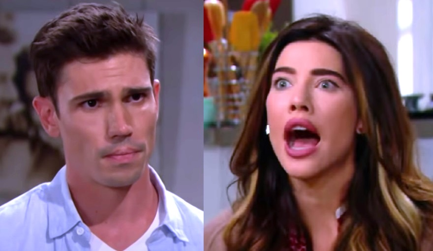 Bold and the Beautiful Finn and Steffy Forrester