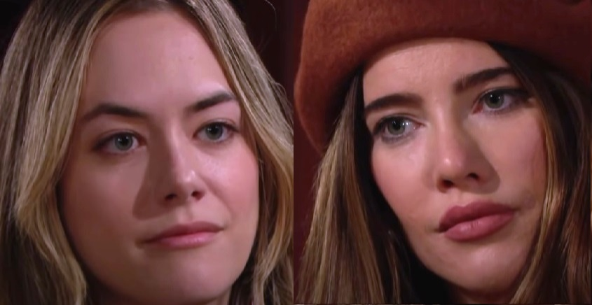 Bold and the Beautiful - Hope Logan and Steffy Forrester Face Off
