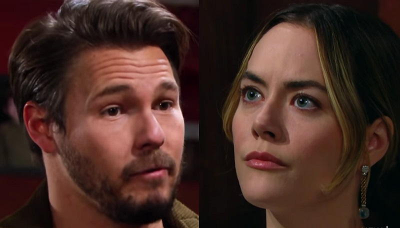 Bold and the Beautiful - Liam Spencer Confesses to Hope Logan