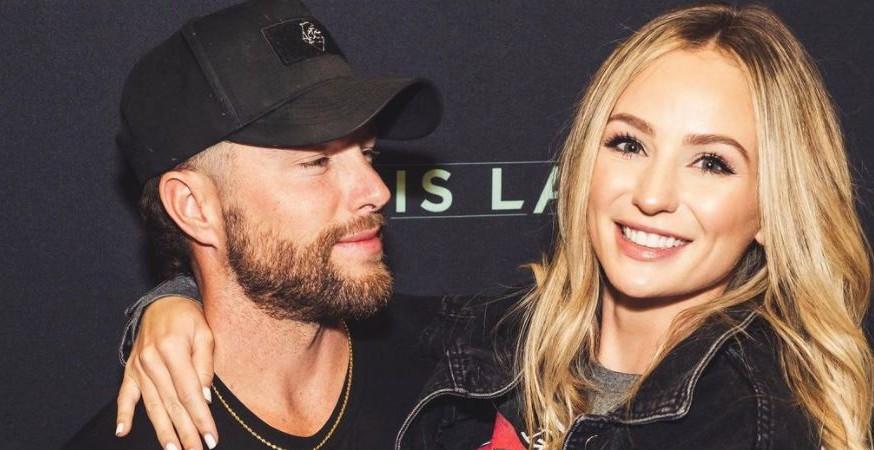 Chris Lane and Lauren Bushnell Instagram