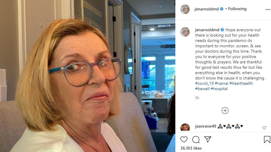 Dr Jen Arnold updates moms health