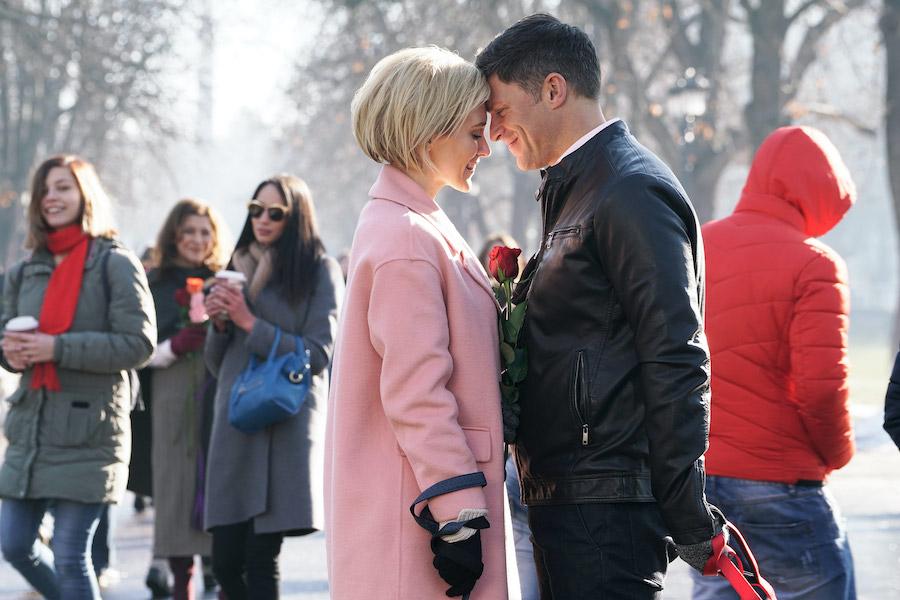 Hallmark, Valentine's Again-Photo: Nicky Whelan, Greg Vaughan Credit: ©2021 Crown Media United States LLC/Photographer:Yana Blajeva