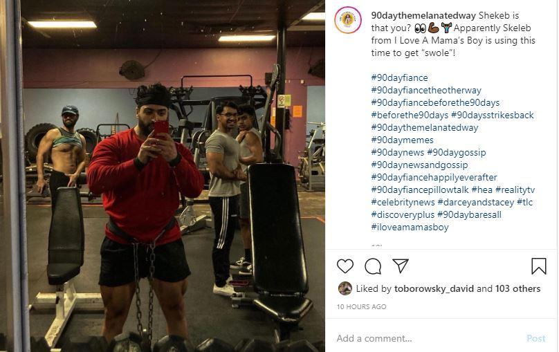 I Love A Mama's Boy Shekeb gyms fans sneer