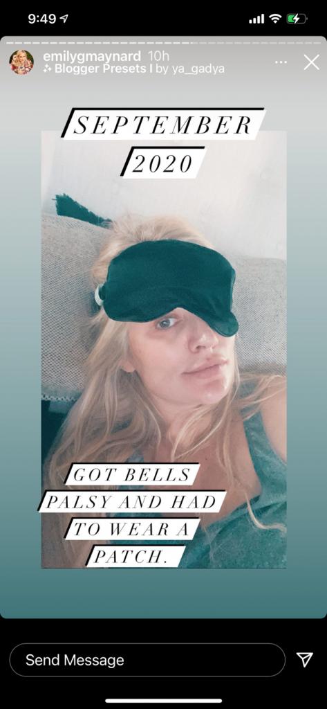 Emily Maynard Johnson Instagram Story