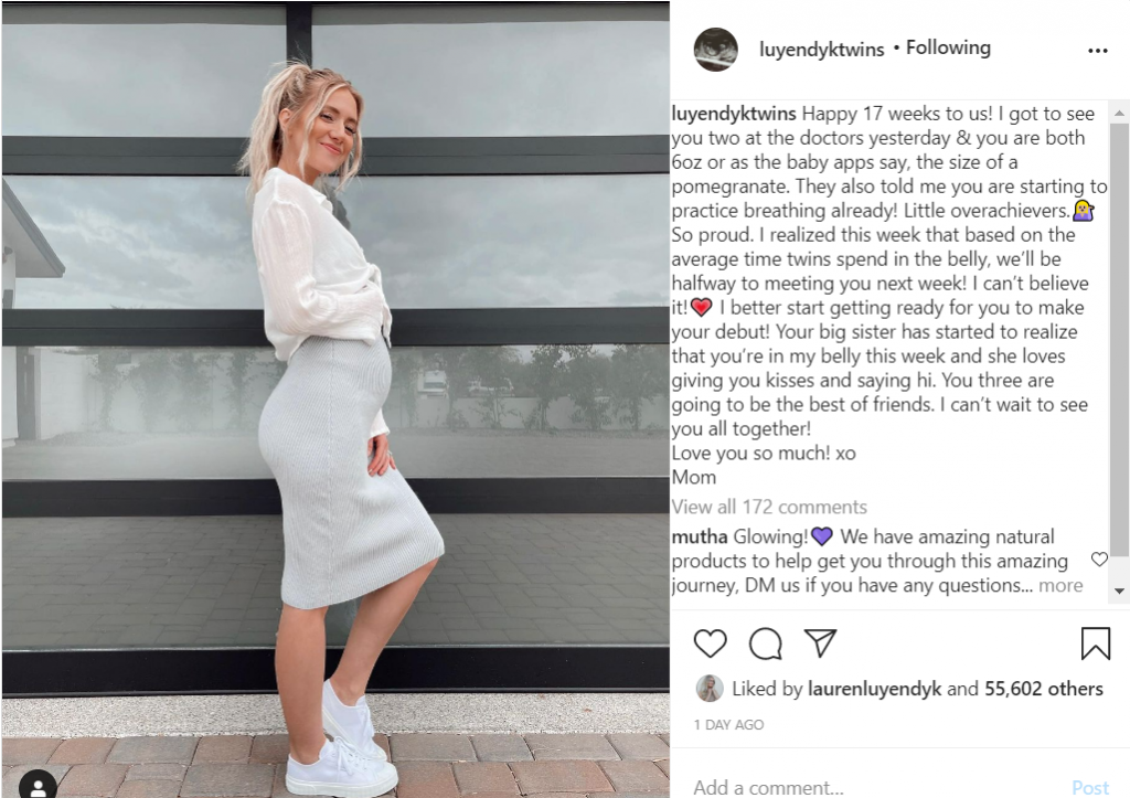 Lauren Burnham 17 week update