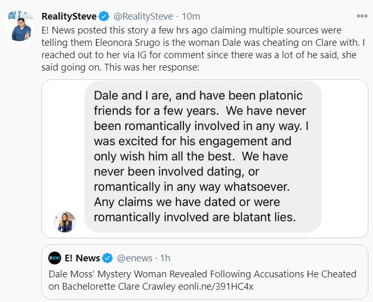 Reality Steve Twitter