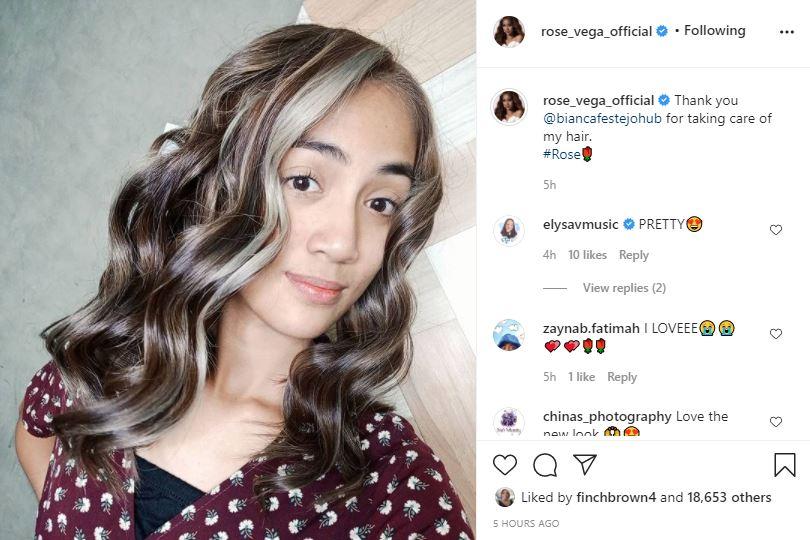 Rose Vega 90 Day Fiance Re-styled Hair