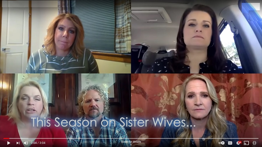 Sister Wives - Brady Bunch Screen