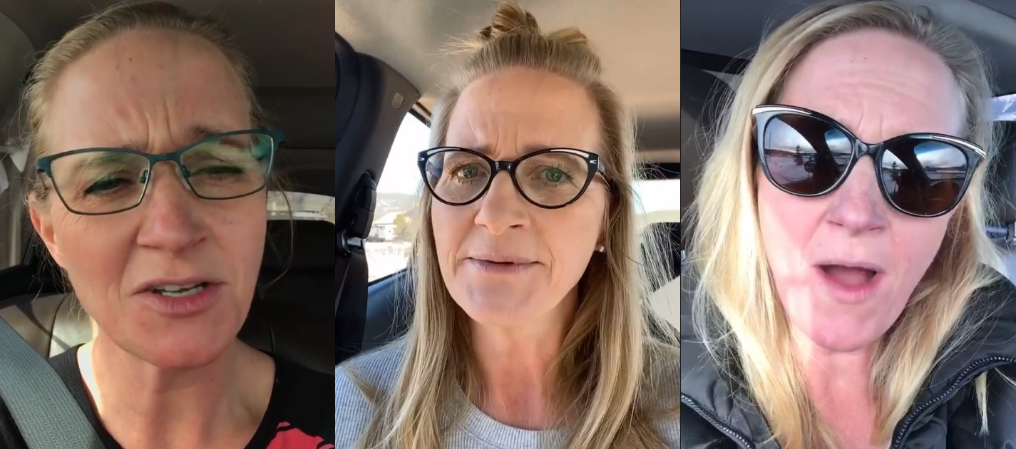 Sister Wives Christine Brown Car Confessions