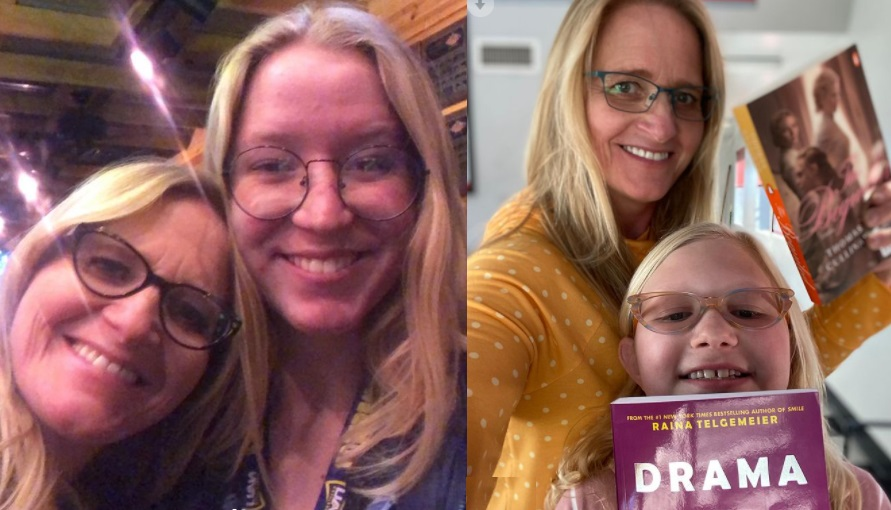 Sister Wives - Christine Brown with Gwendlyn Brown and Christine Brown with Tr