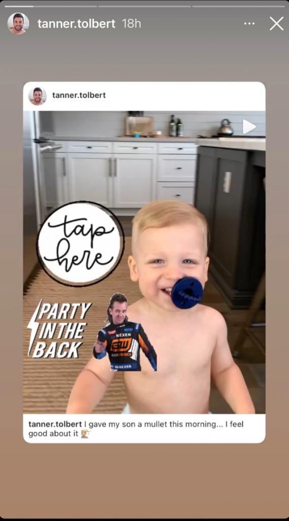 Tanner Tolbert Instagram