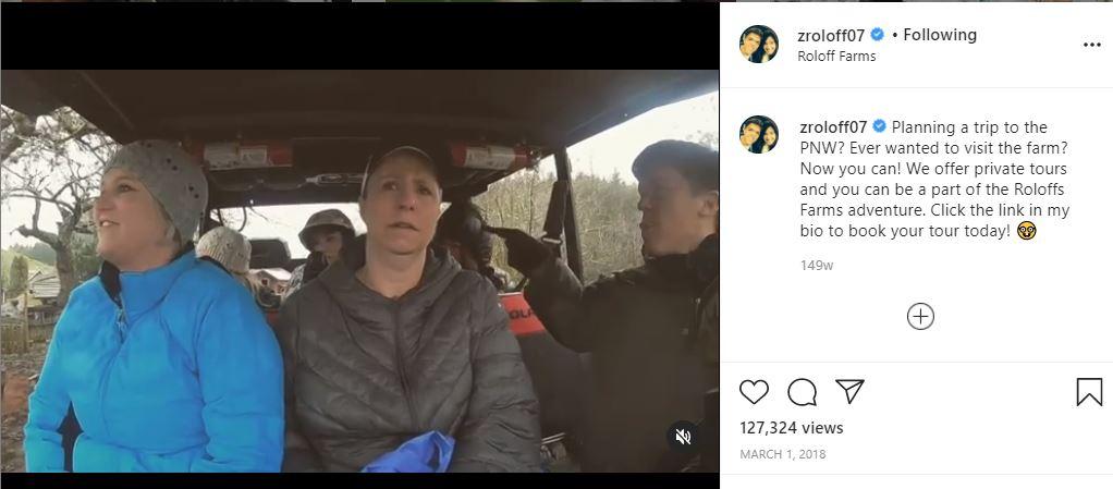 Zach Roloff cash strapped does farm tours