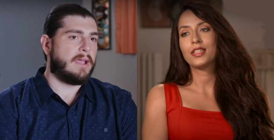 Andrew Kenton and Amira Lollysa of 90 Day Fiance
