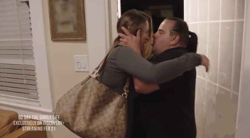 Big Ed leans in for a spontaneous kiss and gets rejected on 90 Day: The Single Life