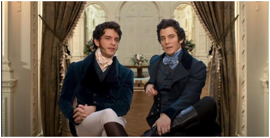 Bridgerton cast members. (Photo by Netflix/YouTube)