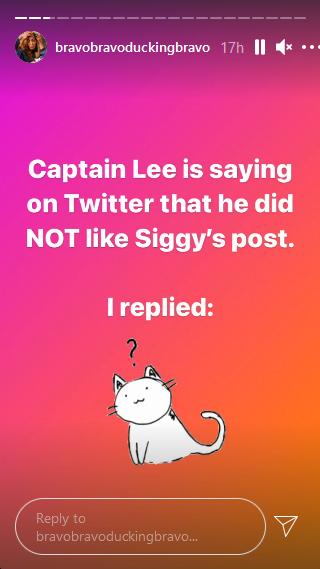 captain lee instagram stories