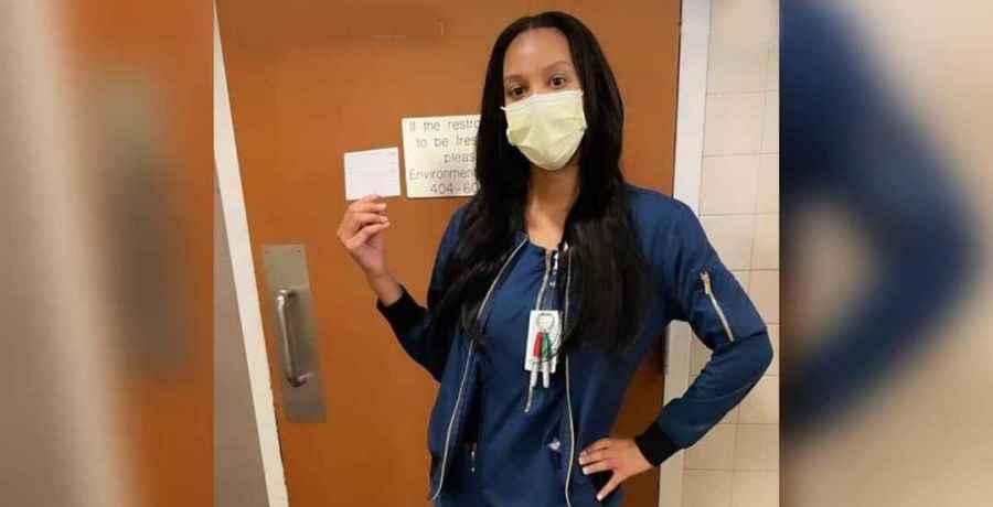 The Family Chantel star Chantel Everett receives the COVID vaccine