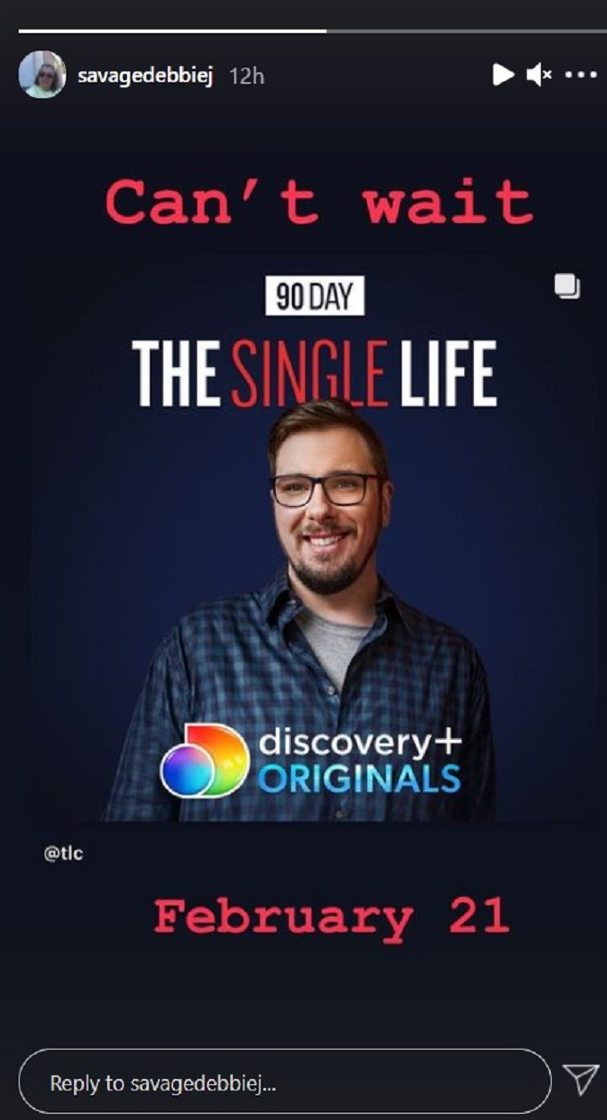 Colt Johnson on 90 Day: The Single Life on discovery+