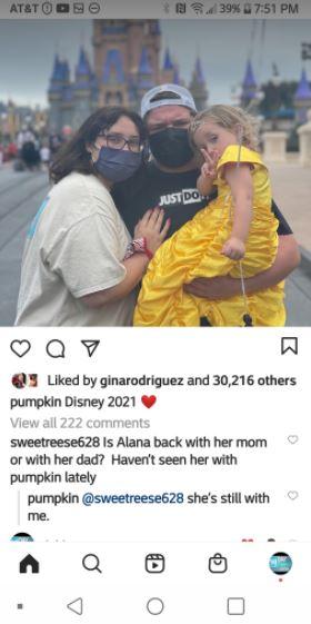 honey boo boo with Pumpkin