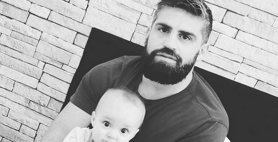 jon walters with baby lucy