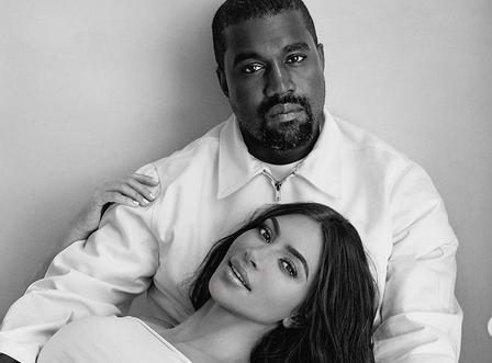 Kim Kardashian and Kanye West Via Instagram