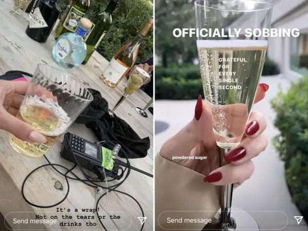 kourtney kardashian instagram stories