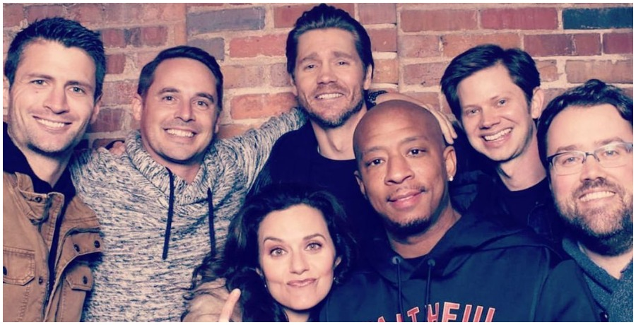 'One Tree Hill' cast reunion. (Photo by Chad Michael Murray/Instagram)