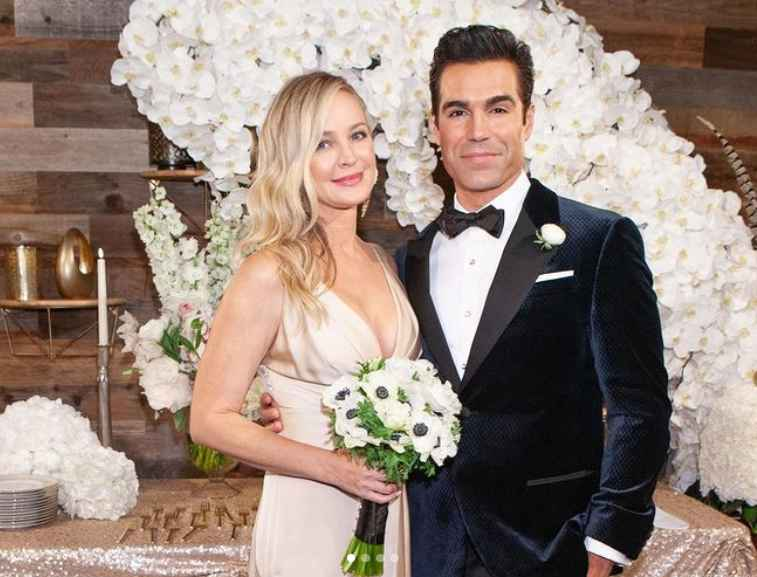 Rey and Sharon on The Young and the Restless