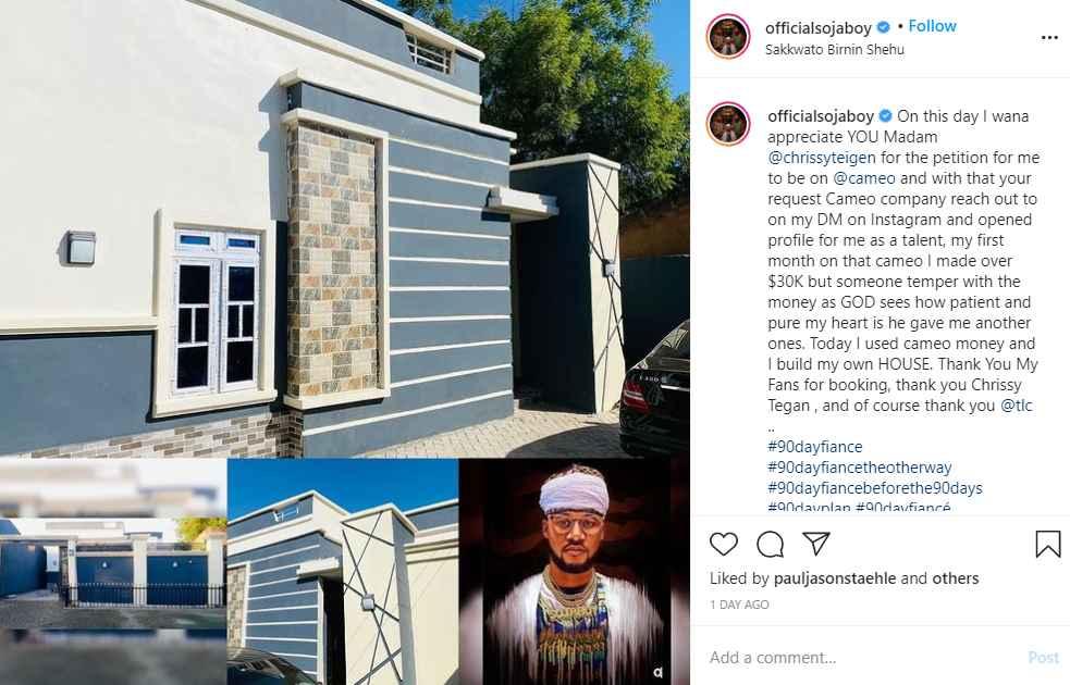 90 Day Fiance alum Usman Umar (Sojaboy) builds a custom house