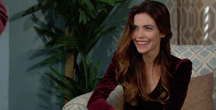 Amelia Heinle as Victoria Newman on The Young and the Restless