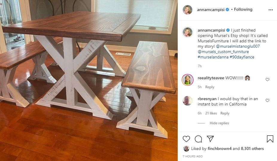 90 Day Fiance Mursel Home-Made Furniture Where To Buy It