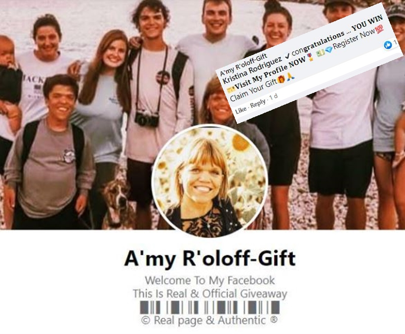 Amy Roloff Exclusive Matt Comments On Fake Gift Page