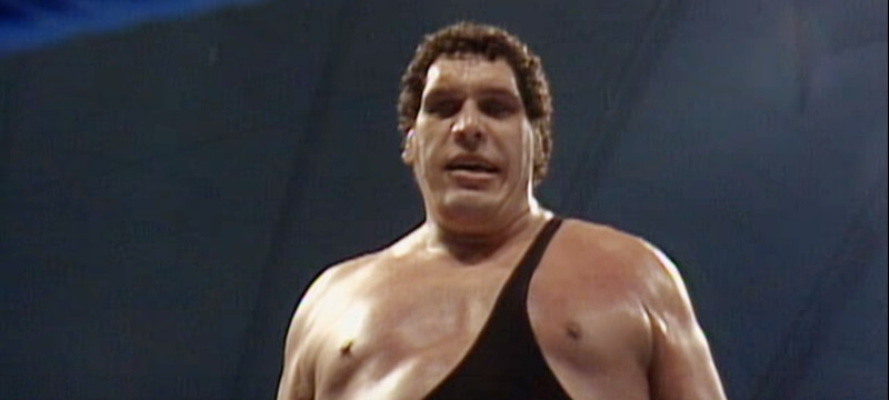 Andre the Giant/YouTube